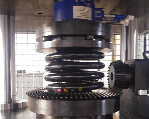 Image of Coil Spring Performance Test Bench