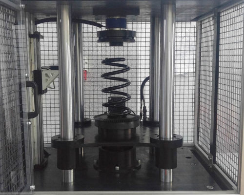 Image of Coil Spring Performance Test System