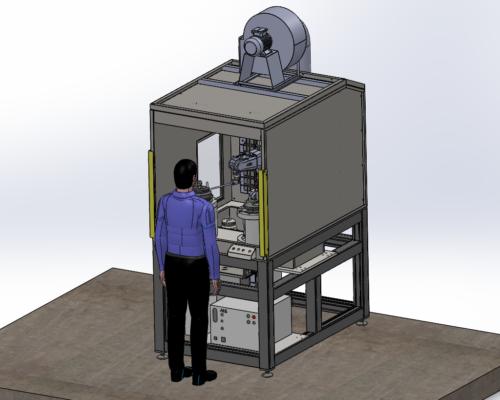 Image of Robotic Painting Machine